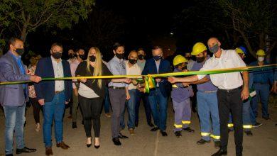 Photo of Fw: Ciudad de Ceres: Inauguración iluminación LEd y entrega de respirador