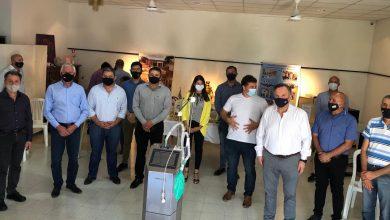 Photo of Fw: Entrega de respirador y casco helmet a Arrufó y Moises Ville