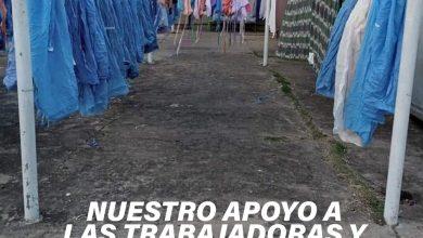 Photo of Fwd: COMUNICADO EN APOYO A LOS TRABAJADORES Y LAS TRABAJADORAS DE LA SALUD
